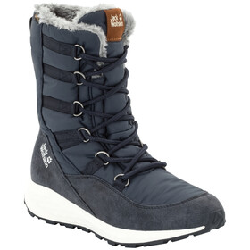 Jack Wolfskin Nevada Texapore High Bottes Femme, dark blue/off-white